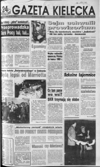 Gazeta Kielecka: 24 godziny, 1992, R.4, nr 18