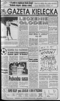 Gazeta Kielecka: 24 godziny, 1992, R.4, nr 21