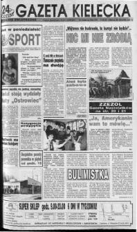 Gazeta Kielecka: 24 godziny, 1992, R.4, nr 22