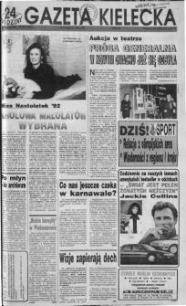 Gazeta Kielecka: 24 godziny, 1992, R.4, nr 28