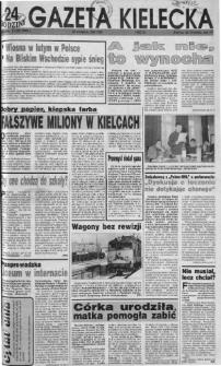 Gazeta Kielecka: 24 godziny, 1992, R.4, nr 29