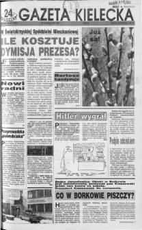 Gazeta Kielecka: 24 godziny, 1992, R.4, nr 39