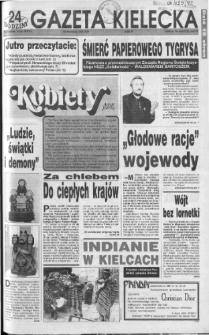 Gazeta Kielecka: 24 godziny, 1992, R.4, nr 46