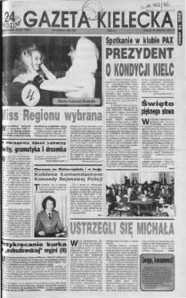 Gazeta Kielecka: 24 godziny, 1992, R.4, nr 48