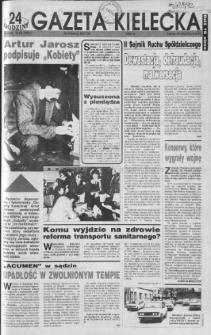 Gazeta Kielecka: 24 godziny, 1992, R.4, nr 49