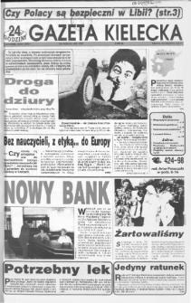 Gazeta Kielecka: 24 godziny, 1992, R.4, nr 66