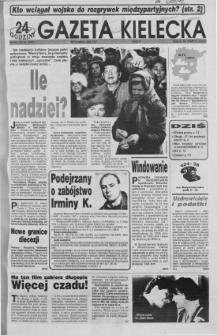 Gazeta Kielecka: 24 godziny, 1992, R.4, nr 70