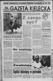 Gazeta Kielecka: 24 godziny, 1992, R.4, nr 71