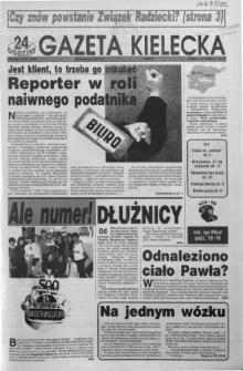 Gazeta Kielecka: 24 godziny, 1992, R.4, nr 74