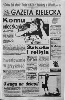 Gazeta Kielecka: 24 godziny, 1992, R.4, nr 75