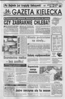 Gazeta Kielecka: 24 godziny, 1992, R.4, nr 112