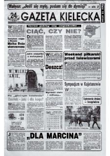 Gazeta Kielecka: 24 godziny, 1992, R.4, nr 116