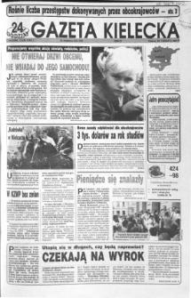 Gazeta Kielecka: 24 godziny, 1992, R.4, nr 158