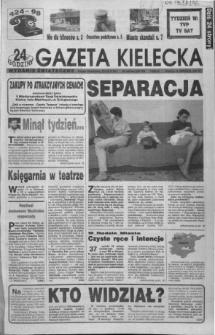 Gazeta Kielecka: 24 godziny, 1992, R.4, nr 209