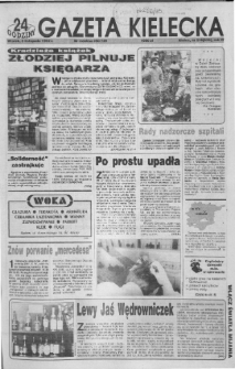 Gazeta Kielecka: 24 godziny, 1992, R.4, nr 216