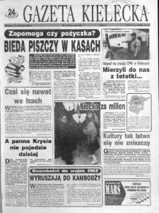 Gazeta Kielecka: 24 godziny, 1993, R.5, nr 7