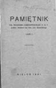 Pamiętnik ks. Teodora Czerwińskiego K. S. T. T.1-2