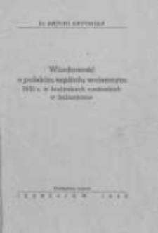 Wiadomość o polskim szpitalu wojennym 1831 r. w budynkach cysterskich w Jędrzejowie