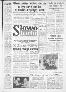 Słowo Ludu : dziennik Polskiej Zjednoczonej Partii Robotniczej, 1986 R.XXXVII, nr 2