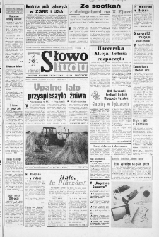 Słowo Ludu : dziennik Polskiej Zjednoczonej Partii Robotniczej, 1986 R.XXXVII, nr 158