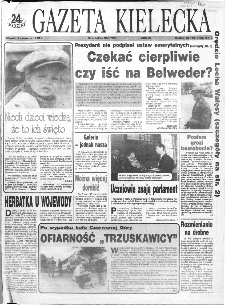 Gazeta Kielecka: 24 godziny, 1993, R.5, nr 105