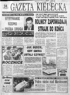 Gazeta Kielecka: 24 godziny, 1993, R.5, nr 170