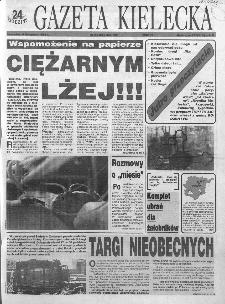 Gazeta Kielecka: 24 godziny, 1993, R.5, nr 215