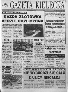 Gazeta Kielecka: 24 godziny, 1993, R.5, nr 218