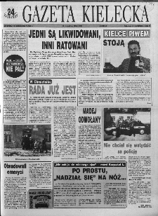 Gazeta Kielecka: 24 godziny, 1993, R.5, nr 222