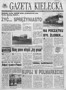 Gazeta Kielecka: 24 godziny, 1994, R.6, nr 3