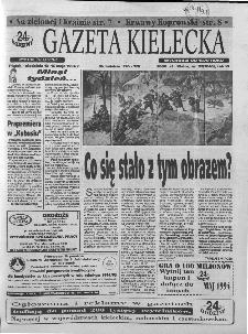 Gazeta Kielecka: 24 godziny, 1994, R.6, nr 92