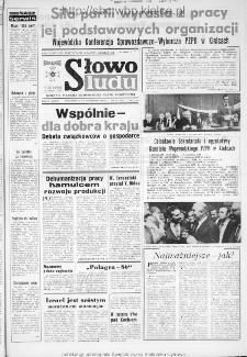 Słowo Ludu : dziennik Polskiej Zjednoczonej Partii Robotniczej, 1986 R.XXXVII, nr 233