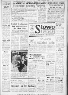 Słowo Ludu : dziennik Polskiej Zjednoczonej Partii Robotniczej, 1986 R.XXXVII, nr 84