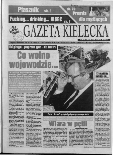 Gazeta Kielecka: 24 godziny, 1994, R.6, nr 223