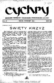 Cychry : pismo poświęcone zagadnieniom upowszechniania kultury 1946, nr 4-5