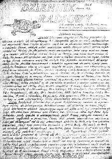 Dziennik Radiowy 1942, nr 3