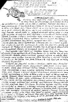 Dziennik Radiowy 1942, nr 7