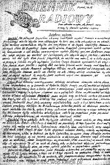 Dziennik Radiowy 1942, nr 10
