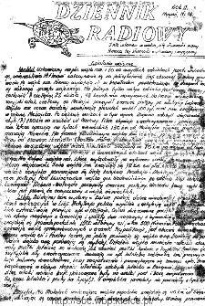 Dziennik Radiowy 1942, nr 16