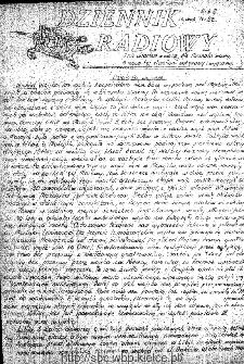 Dziennik Radiowy 1942, nr 22
