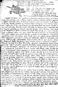 Dziennik Radiowy 1942, nr 27
