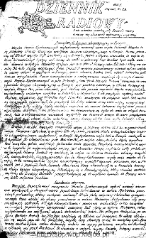 Dziennik Radiowy 1942, nr 28