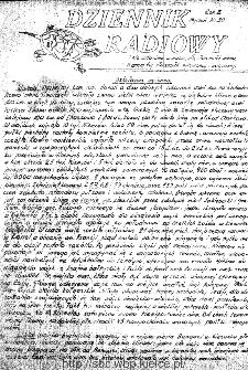 Dziennik Radiowy 1942, nr 30