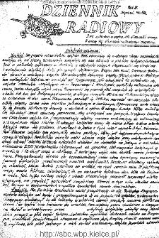 Dziennik Radiowy 1942, nr 32