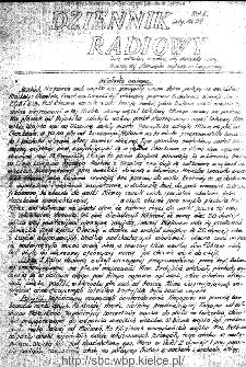 Dziennik Radiowy 1942, nr 34