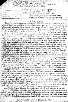 Dziennik Radiowy 1942, nr 36