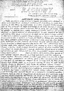 Dziennik Radiowy 1942, nr 43