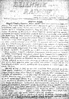 Dziennik Radiowy 1942, nr 44