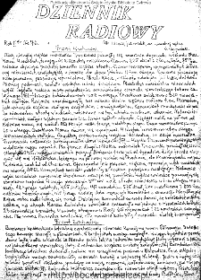 Dziennik Radiowy 1942, nr 76