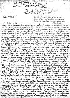 Dziennik Radiowy 1942, nr 82
